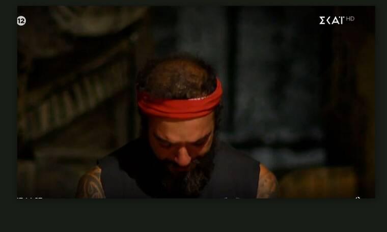 Survivor: Καταρρέει ο Τριαντάφυλλος –Στο συμβούλιο απόψε ζητά να αποχωρήσει