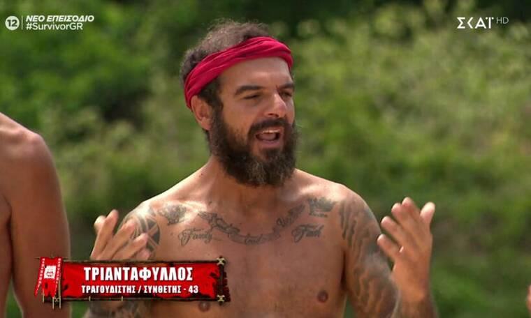 Survivor: Ζήτησε να αποχωρήσει ο Τριαντάφυλλος - «Θέλω να με αφήσει ο κόσμος να φύγω»