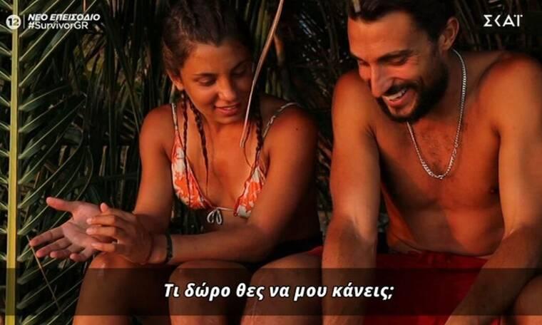 Survivor: Η απάντηση του Λιανού για τον κολιέ που έκανε δώρο ο Σάκης στη Μαριαλένα