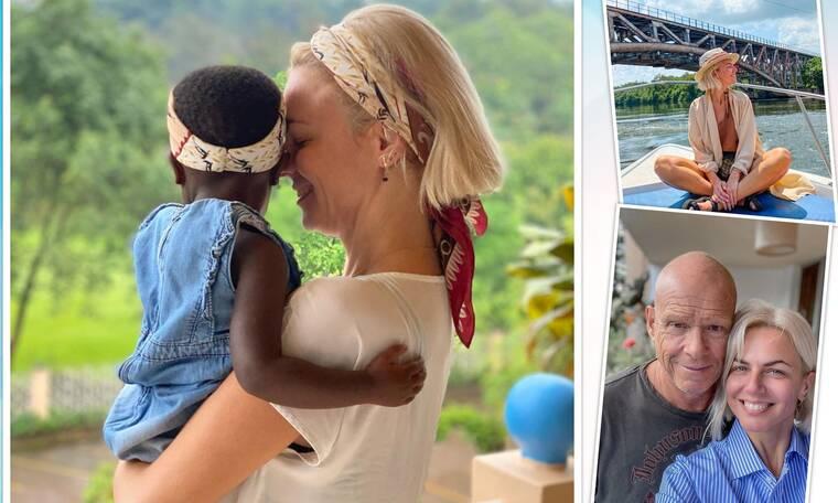 Χριστίνα Κοντοβά: Το ταξίδι ζωής στην Ουγκάντα με τη μικρή Ada που υιοθετεί!