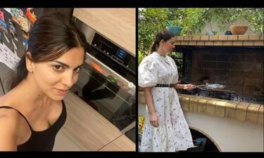 Σταματίνα Τσιμτσιλή: Δείτε πλάνα από το minimal σπίτι που ζει με την οικογένειά της