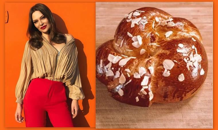 Υβόννη Μπόσνιακ: Έφτιαξε τα πιο αφράτα και νόστιμα τσουρέκια - Δες τη συνταγή της