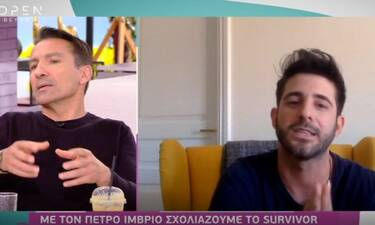 Survivor: Πέτρος Ίμβριος: «Δεν θα ήθελα να ήμουν στη θέση του Γιώργου Λιβάνη»