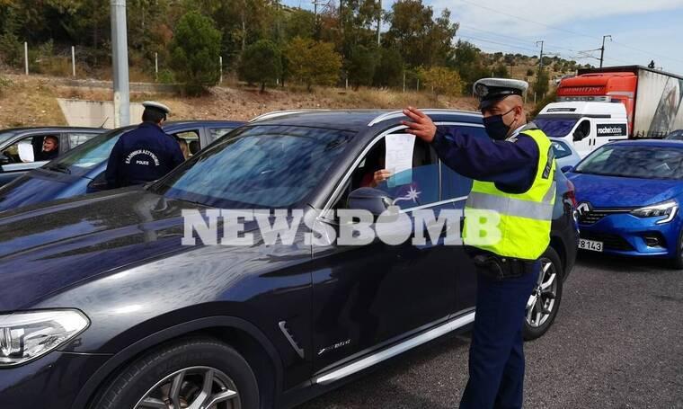 Ρεπορτάζ Newsbomb.gr - Διόδια Ελευσίνας: Ουρές οχημάτων και αυστηροί έλεγχοι - Τι λένε οι ταξιδιώτες