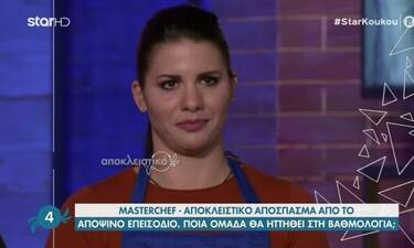 MasterChef: «Κανείς δεν εμπιστεύεται τη Μαρίνα πια... »