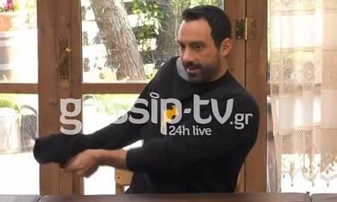 Η Φάρμα: Αποκλειστικό βίντεο! Ο Τανιμανίδης έβγαλε τη μπλούζα του κι έγινε... χαμός!