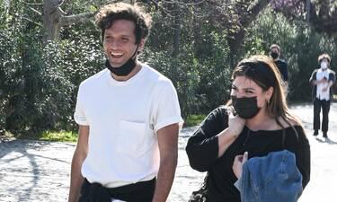 Δημήτρης Μοθωναίος - Δανάη Μπάρκα: Πού τους «τσάκωσε» ο φωτογραφικός φακός;