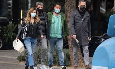 Γιάννης Λάτσιος: Βόλτα στη Γλυφάδα μετά από καιρό!
