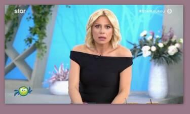 Κατερίνα Καραβάτου: «Άφωνη» on air με την ανακοίνωση – Δείτε τι συνέβη!