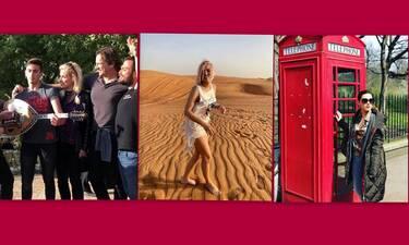 Το Πάσχα που θα ήθελαν οι celebrities αλλά λόγω κορονοϊού… Μόνο από φωτογραφίες!