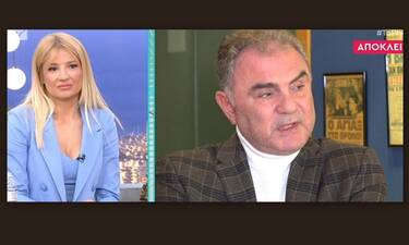 Χρήστος Σωτηρακόπουλος: Ανατριχιάζει η αποκάλυψη για το θάνατο της γυναίκας του