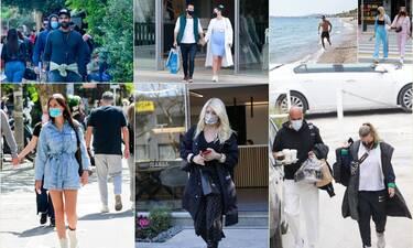 Μεγάλη Εβδομάδα στην πόλη! Οι celebrities ντύθηκαν casual και βγήκαν να βολτάρουν