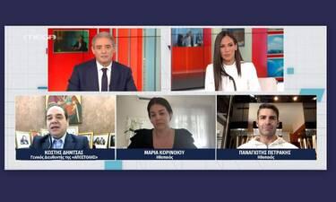 Κοινωνία Ώρα Mega: «Λύγισαν» on air Χασαπόπουλος - Βούλγαρη με την αφήγηση της Κορινθίου