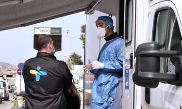 Κρούσματα σήμερα: 2.435 νέα, 73 θανάτους και 817 διασωληνωμένους ανακοίνωσε ο ΕΟΔΥ