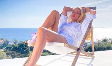 Δούκισσα Νομικού: Ξεκίνησε τα μπάνια - Η πρώτη φωτό από την παραλία για φέτος