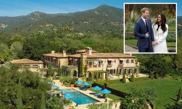 Μέγκαν Μάρκλ – Πρίγκιπας Χάρι: Νέα πλάνα από το υπερπολυτελές σπίτι τους στην Καλιφόρνια