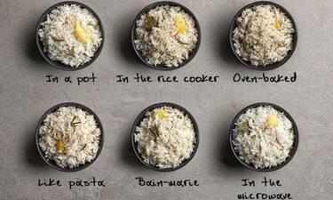 Ο Άκης Πετρετζίκης συμβουλεύει: Αυτός είναι ο καλύτερος τρόπος για να φτιάξουμε ρύζι
