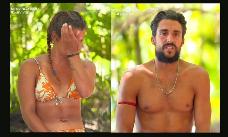 Survivor: Εξοργισμένη η Μαριαλένα με τον Σάκη! Ο καβγάς και τα κλάματα