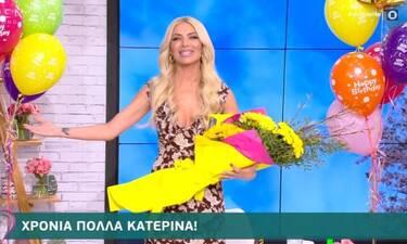 Κατερίνα Καινούργιου: Γενέθλια για την παρουσιάστρια – Η επική ατάκα on air