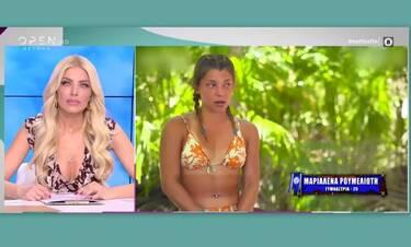 Survivor: Δεν φαντάζεστε τι ξεστόμισε on air η Καινούργιου για την Μαριαλένα!