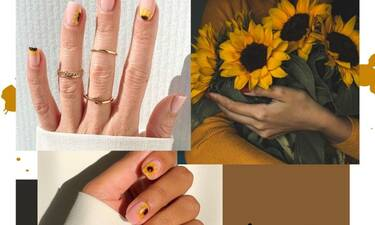#SunflowerNails είναι τα νύχια στολισμένα με ηλίανθους και θα τα λατρέψεις