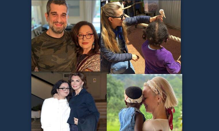 Γιορτή της μητέρας: Μαμά δεν είναι μόνο εκείνη που γεννάει! Επώνυμες Ελληνίδες που έχουν υιοθετήσει