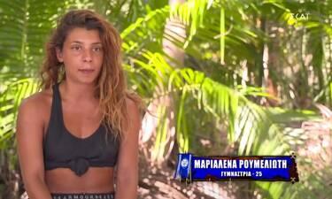 Survivor: Τα παράπονα της Μαριαλένας για τον Λιβάνη: «Θα ήθελα να μιλήσω μαζί του»
