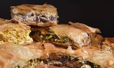 Πίτα με τρεις γεμίσεις από τον Άκη Πετρετζίκη