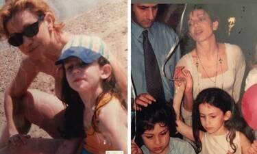 Πέμη Ζούνη: Αδημοσίευτες φωτό από το προσωπικό της άλμπουμ με την κόρη της
