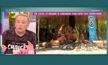 Ανδρέας Μικρούτσικος: H απίστευτη ατάκα του on air για τον Λιβάνη: «Κέρατα θα έτρωγε…»