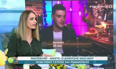 MasterChef 5: Η Ανούς μίλησε ανοιχτά για τη σχέση της με τον Διονύση