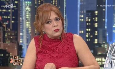 The 2night show: Ελένη Ράντου: «Αν δεν ήταν η καραντίνα δεν θα έκανα τηλεόραση»
