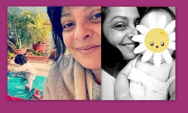 Γιορτή της μητέρας: Οι πιο τρυφερές φώτο της Βασιλικής Ανδρίτσου με την κόρη της, Ανθένια