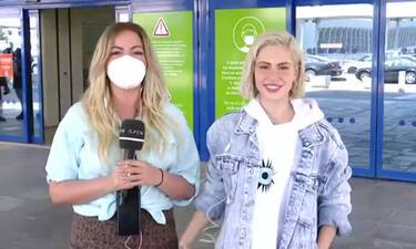 Eurovision 2021: Η Τσαγκρινού αναχώρησε για Ρότερνταμ και έδωσε... spoiler για την εμφάνισή της