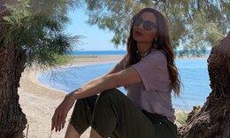 Η Δέσποινα Βανδή πήγε στην Κρήτη και εντυπωσίασε με τις αναλογίες της