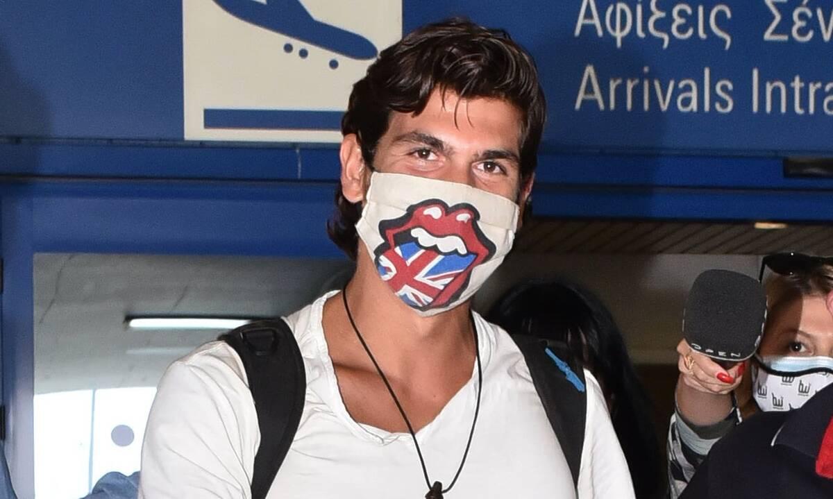 Survivor: Στην Ελλάδα ο Παύλος Γαλακτερός – Οι πρώτες φωτό από το αεροδρόμιο