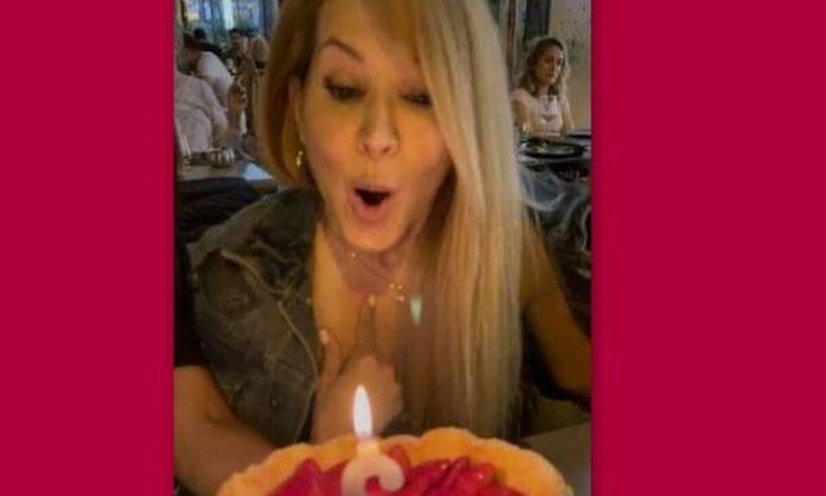 Αννίτα Ναθαναήλ: Η πρώτη έξοδος μετά το lockdown και η τούρτα - έκπληξη για τα γενέθλιά της