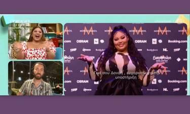 Eurovision 2021: Άφωνη η Δανάη Μπάρκα με τη Destiny - Η τραγουδίστρια της Μάλτας της έστειλε μήνυμα!