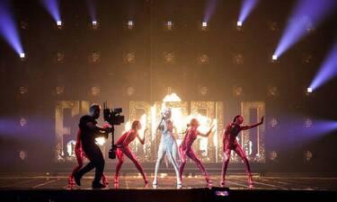 Eurovision 2021: Το ατύχημα της Έλενας Τσαγκρινού που διέκοψε την πρόβα της Κύπρου
