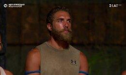 Survivor: Η αντίδραση του Κόρο όταν άκουσε για πρώτη φορά πως είναι υποψήφιος