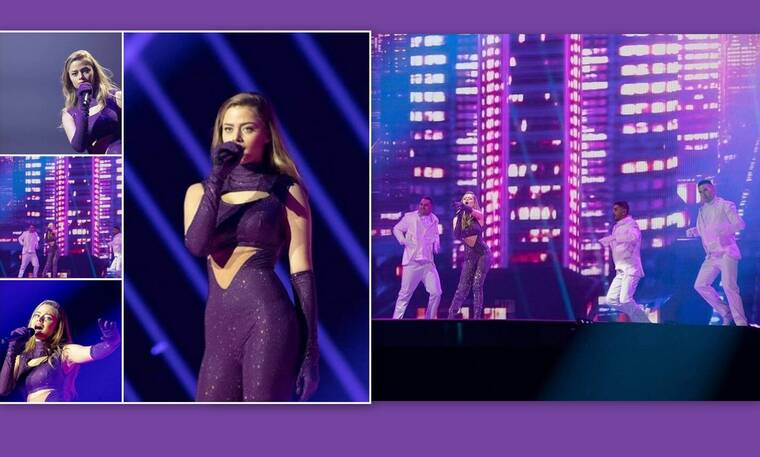 Eurovision 2021: Παραλίγο ατύχημα για τη Στεφανία - Τα τεχνικά προβλήματα και οι αναποδιές!