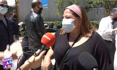 Βίκυ Σταυροπούλου: Εμβολιάστηκε κατά του κορονοϊού και είναι χαρούμενη και αισιόδοξη!