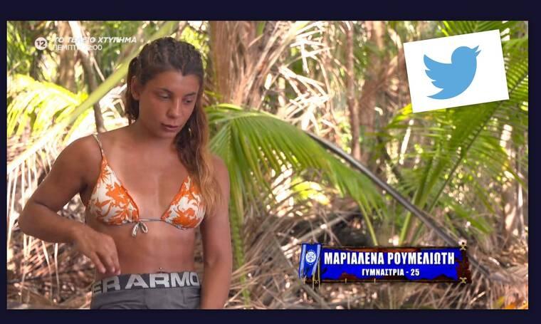 Survivor: Η Μαριαλένα φόρεσε το εσώρουχο του Σάκη και στο twitter έγινε χαμός!