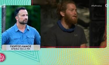 Survivor: Ο Λιανός αποκάλυψε τους λόγους της αποχώρησης του James και τις αλλαγές στο ριάλιτι
