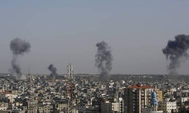 Σύγκρουση Παλαιστινίων- Ισραήλ: Αυξάνονται οι νεκροί- εκατοντάδες αεροπορικά πλήγματα,1.000 ρουκέτες