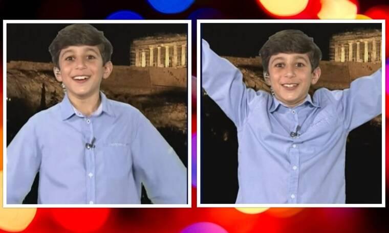 Eurovision 2021 Τελικός: Ο 10χρονος «Άγγελος» από τα Καλύτερά μας χρόνια έδωσε το 12άρι της Ελλάδας
