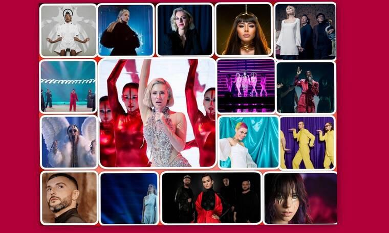 Eurovision 2021 Α' Ημιτελικός: Αυτές οι χώρες πέρασαν στον τελικό (Pics-Vids)