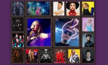 Eurovision 2021 Β' Ημιτελικός: Αυτές οι χώρες πέρασαν στον τελικό (Pics-Vids)