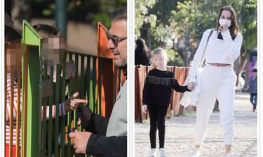 Ρέμος-Μπόσνιακ: Όμορφες στιγμές με την κόρη τους στην παιδική χαρά!