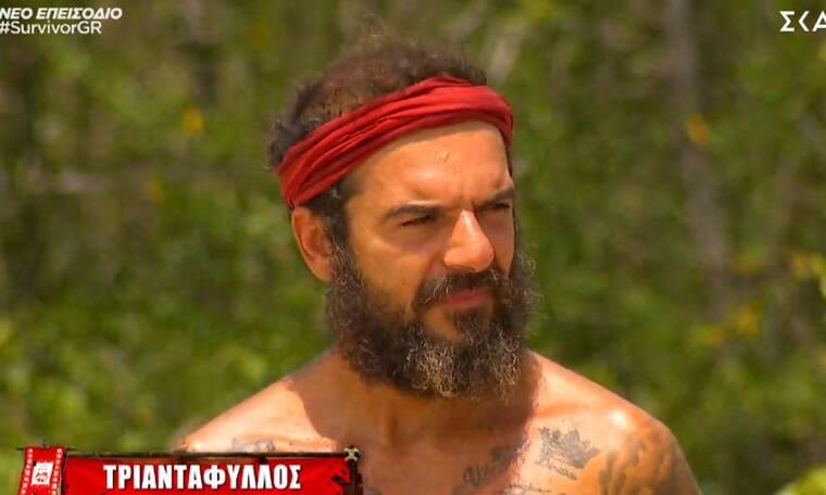 Survivor: «Βόμβα» από τον Τριαντάφυλλο! Ζήτησε να αποχωρήσει οικειοθελώς! Έξαλλοι οι συμπαίκτες του